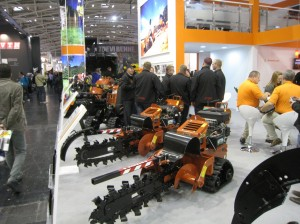 Bauma Ditch Witch trenchers